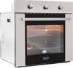 Встраиваемый газовый духовой шкаф  Ricci  RGO 640 IX