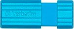 Флеш-накопитель  Verbatim  16 Gb PinStripe 49068 USB2.0 синий