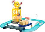 Интерактивная и развивающая игрушка  Robocar Poli  Порт (металлическая фигурка Терри 12см в комплекте) с разводным мостом