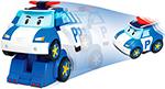 Радиоуправляемая игрушка  Robocar Poli  Поли на радиоуправлении . Управляется в форме робота и машины