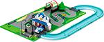 Интерактивная и развивающая игрушка  Robocar Poli  «Город» Штабквартира ( металлическая машинка Поли в комплекте)