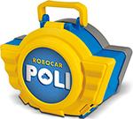 Робот, трансформер  Robocar Poli  Поли 12,5см с гаражом