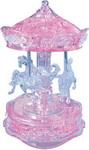 Настольная развивающая и обучающая игра  Crystal Puzzle  Карусель розовая 91209