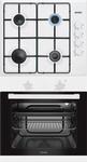 Встраиваемый комплект (варочная панель+духовой шкаф)  Simfer  S 60 W 02 White