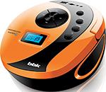 Магнитола  BBK  BBK BS 10 BT чёрный/оранжевый
