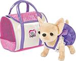 Мягкая игрушка  Simba  Чихуахуа Chi-Chi love в платье, с сумкой, 20 см 5897407