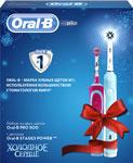 Электрическая зубная щетка  BRAUN  Oral-b зуб. щетка Pro 500/D 16.513 U Stages Power Frozen D 12.513 K
