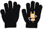Варежки и перчатки  Picollino  GL 50257 black, 15 (9 лет), Черный