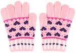 Варежки и перчатки  Picollino  GL-10577 pink fw 18, 18 (12 лет), Розовый