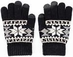 Варежки и перчатки  Picollino  GL-10578 black fw 18, 18 (12 лет), Черный