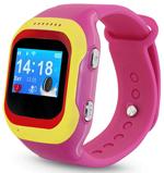 Детские часы с GPS поиском  Ginzzu  13234 501 pink, 0.98``, micro-SIM