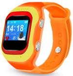 Детские часы с GPS поиском  Ginzzu  14224 501 orange, 0.98``, micro-SIM