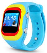 Детские часы с GPS поиском  Ginzzu  14222 501 blue, 0.98``, micro-SIM