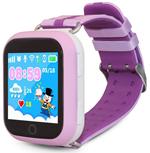 Детские часы с GPS поиском  Ginzzu  14385 503 pink, 1.54`` Touch, nano-SIM