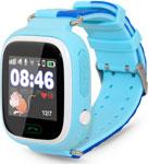 Детские часы с GPS поиском  Ginzzu  505 blue, 1.22`` Touch, micro-SIM 14619