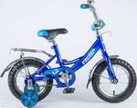 Велосипед детский  Novatrack  12 VECTOR синий 123 VECTOR.BL8