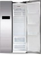 Холодильник Side by Side  Ginzzu  NFK-605 стальной