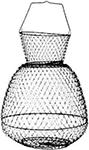 Аксессуар для рыбалки  Salmo  металлический 55х37х37 см WB 003817