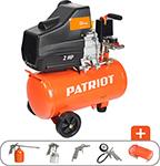 Компрессор  Patriot  EURO 24-240 K + набор пневиоинструмента KIT 5В, 525306366
