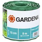 Садовый бордюр и ограждение  Gardena  зеленый 15 см, длина 9 м 00538-20
