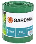 Садовый бордюр и ограждение  Gardena  зеленый 20 см, длина 9 м 00540-20