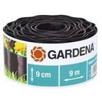 Садовый бордюр и ограждение  Gardena  черный 9 см, длина 9 м 00530-20