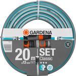 Шланг садовый  Gardena  Classic 13 мм (1/2``), 20 м: комплект 18004-20
