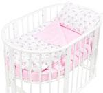 Комплект постельного белья  Sweet Baby  Yummy Rosa (Розовый) в круглую/овальную кровать, 4 предмета