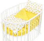 Комплект постельного белья  Sweet Baby  Yummy Giallo (Желтый) в круглую/овальную кровать, 4 предмета