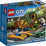 Конструктор  Lego  CITY JUNGLE EXPLORER НАБОР «ДЖУНГЛИ» ДЛЯ НАЧИНАЮЩИХ 60157