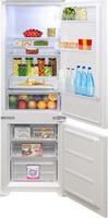 Встраиваемый двухкамерный холодильник  Zigmund & Shtain  BR 03.1772 SX