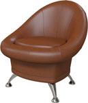 Мягкая мебель  Гранд Кволити  ГК 6-5104 Коричневый