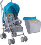 Коляска  LORELLI  Fiesta Blue&Grey Hello Bear 1718 10020731718