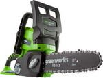 Цепная пила  Greenworks  G 24 CS 25 2000007