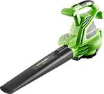 садовый пылесос и воздуходувка  Greenworks  2800 W GBV 2800 2402707