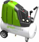 Компрессор  Greenworks  24л GAC 24 L 4101807