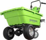 Тачка садовая  Greenworks  40 V G-max без аккумулятора и зарядного устройства 7400007