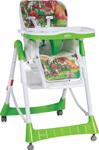 Стульчик для кормления  Lorelli  Primo Зеленый Green Mushrooms 1721 10100051721