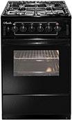 Комбинированная плита  Лысьва  ЭГ 401-2у черная