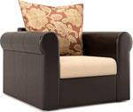 Мягкая мебель  MebelVia  Париж Рейн Eva 063-9/ Десерт 404 D brown