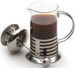 Кофеварка, френч-пресс и турка  Berghoff  600мл (с полосками) 1106801