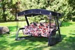 Качели садовые  Olsa  ``Мастак Премиум`` мебельная ткань с589