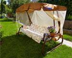 Качели садовые  Olsa  ``Турин`` мебельная ткань с677