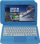Ноутбук  HP  Stream 11-y 008 ur (2EQ 22 EA) бирюзовый