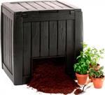 Прочая садовая принадлежность  Keter  Deco Composter 340 л черный 17196661