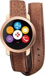 Умные часы и браслет  MyKronoz  ZeCircle2 Premium (KRZECIRCLE2PF-BROWN) розовое золото