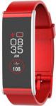 Умные часы и браслет  MyKronoz  ZeFit4HR (KRZEFIT4HR-RED) красный/серебро