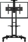 Подставка, стойка, полка для телевизора и аппаратуры  ONKRON  TS 1551 черная