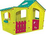 Детский игровой домик  Keter  Magic Villa Play House 17190655/ЗЕЛ