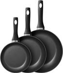 Набор посуды  Berghoff  3 сковороды диаметром 20см,24см,28см 1100097
